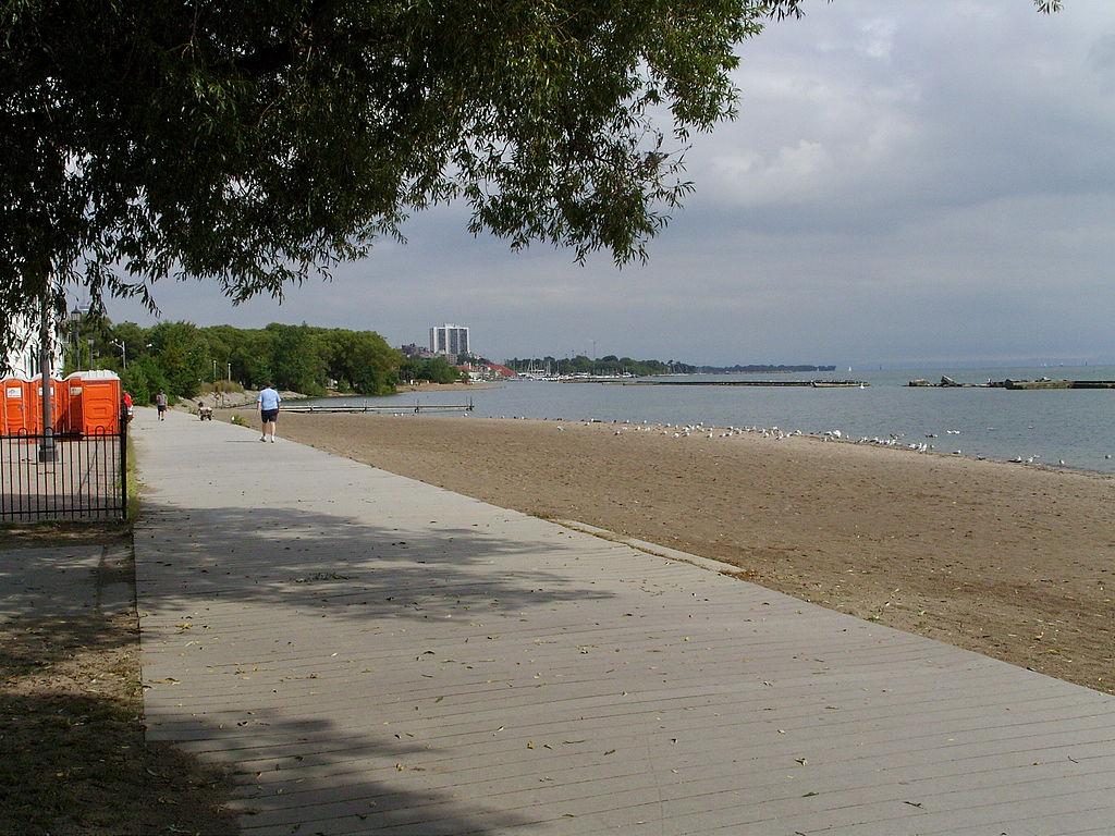 Sunny Side Beach on Lake Ontario