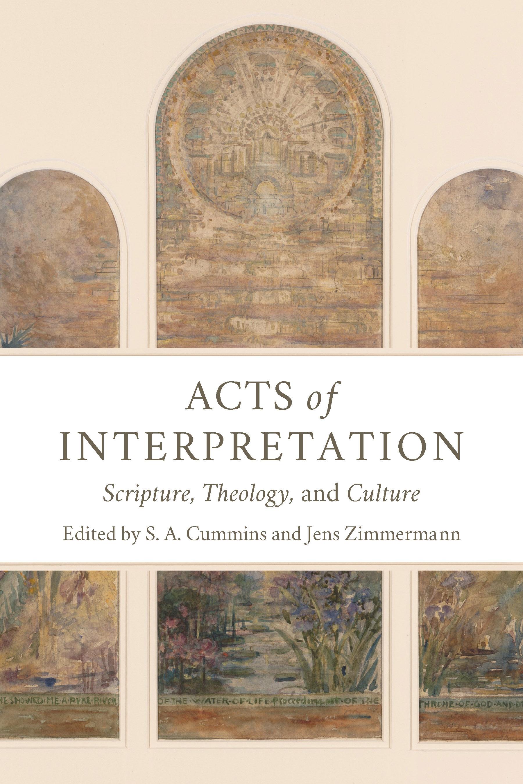 Acts of Interpretation book cover