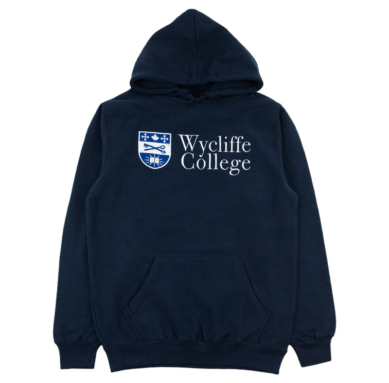 Blue Wycliffe College Hoodie