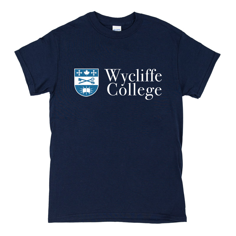 Blue Wycliffe College Men's T-Shirt