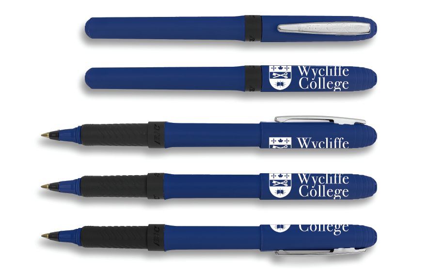 Wycliffe College Blue Pens
