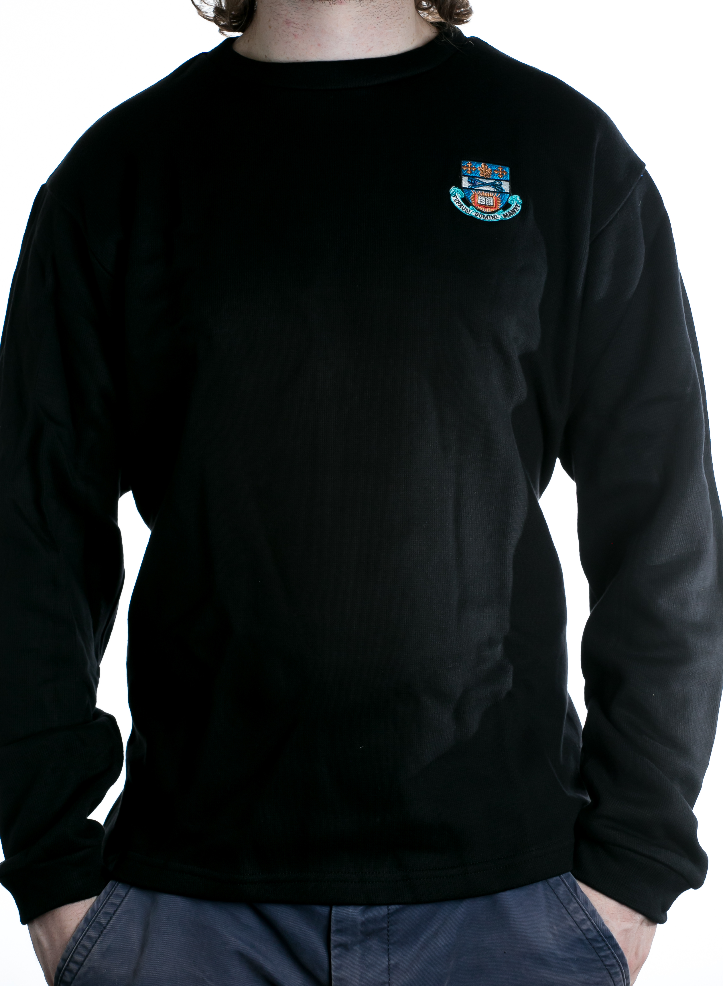 Wycliffe College Crest Sweater