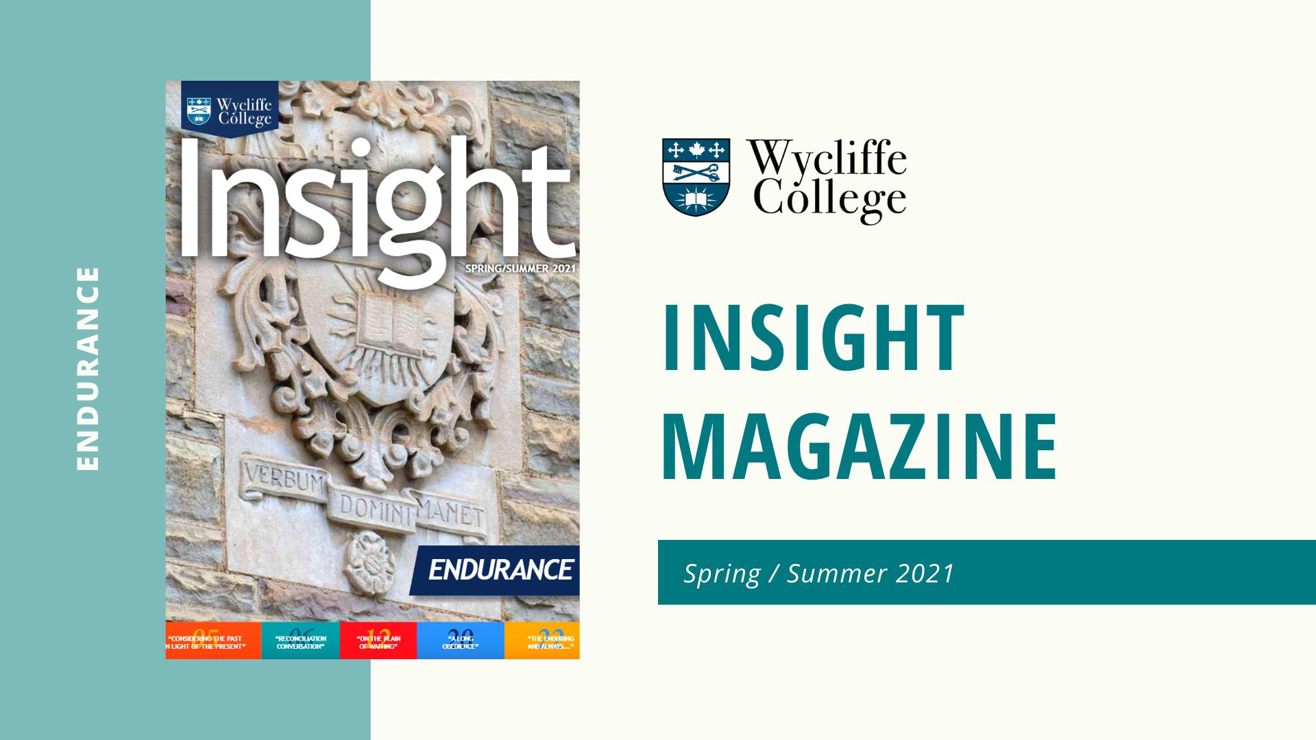Insight Magazine - Spring/Summer 2021