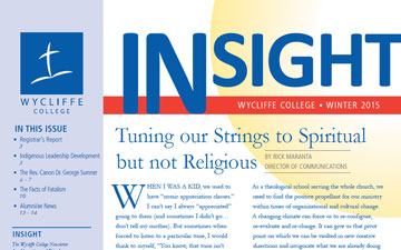 Insight Magazine Fall 2015 Now Available (PDF) | Wycliffe