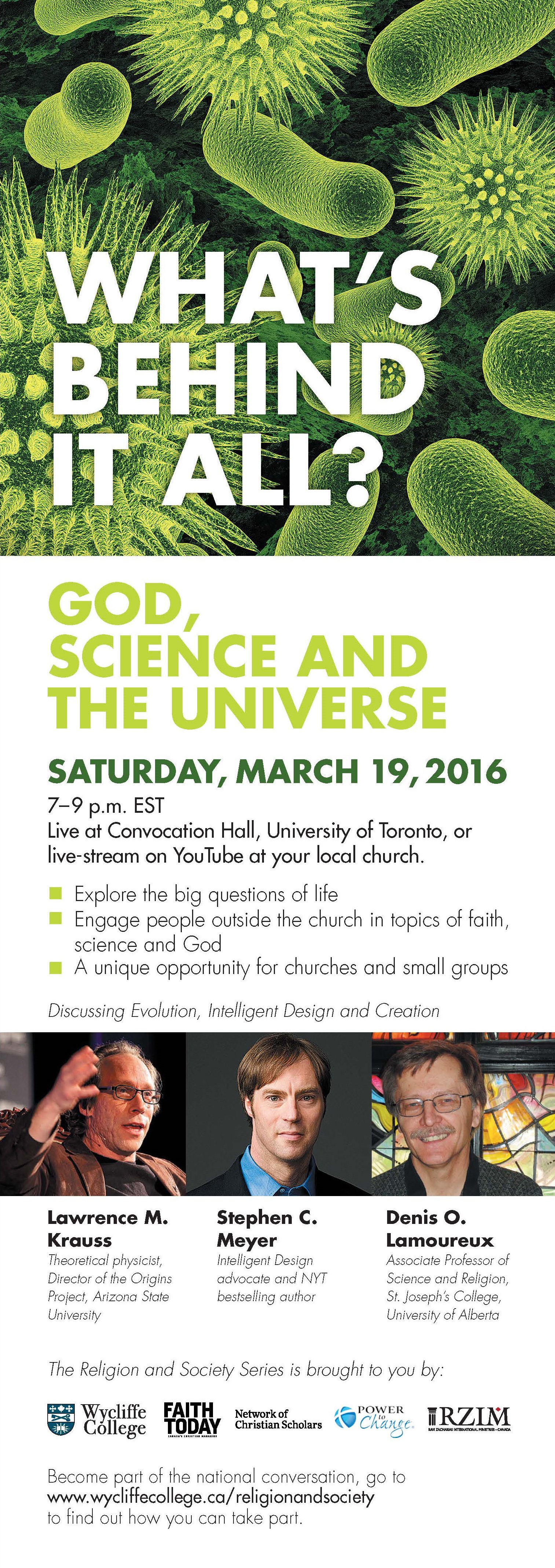 God, Science and the Universe
