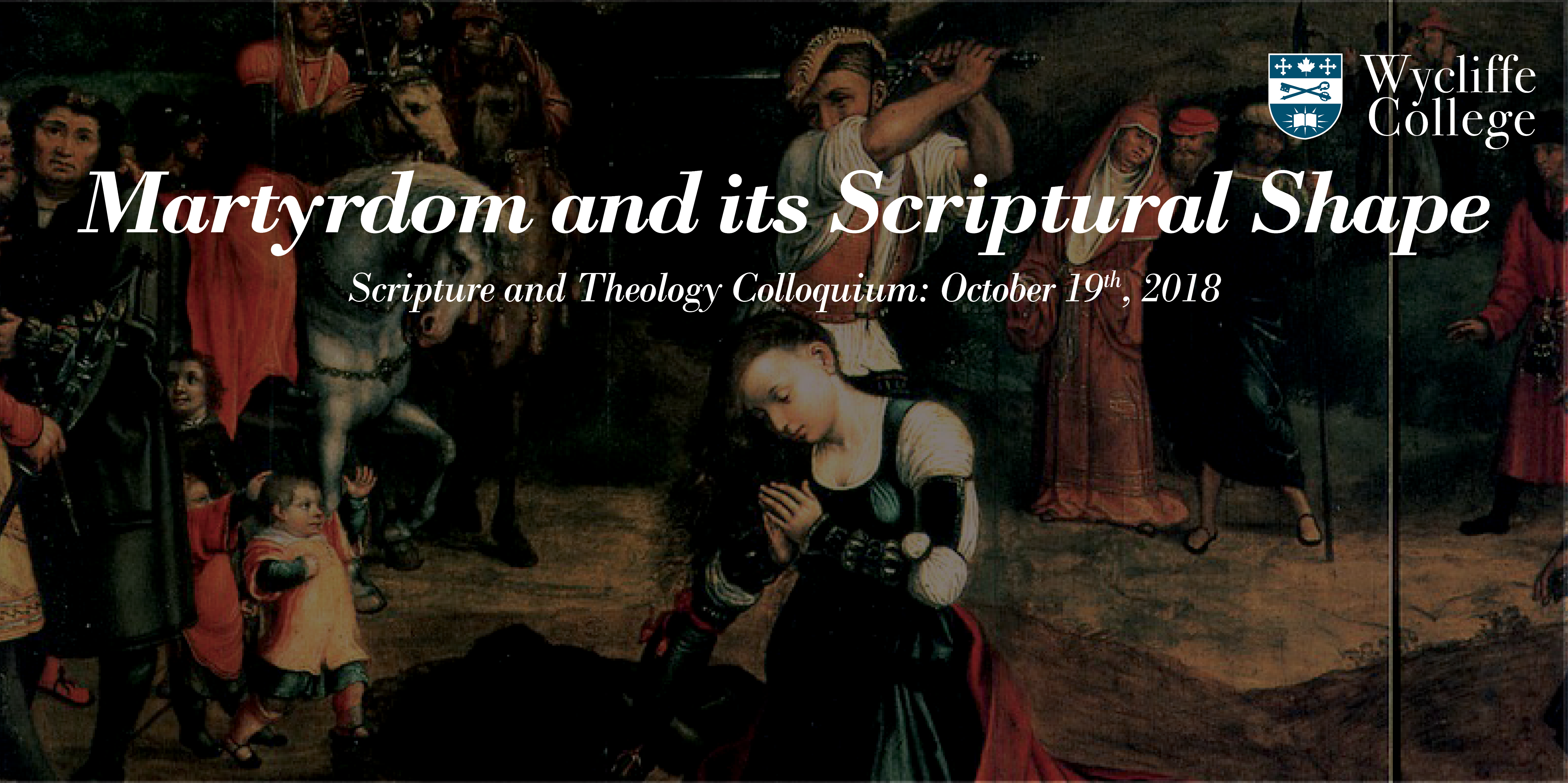 Martyrdom and its Scriptural Shape