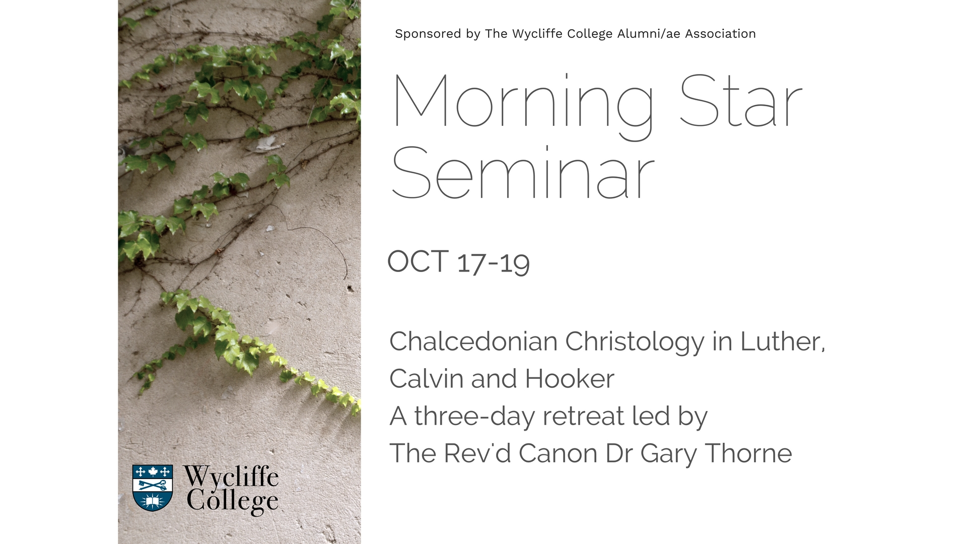 Morning Star Seminar