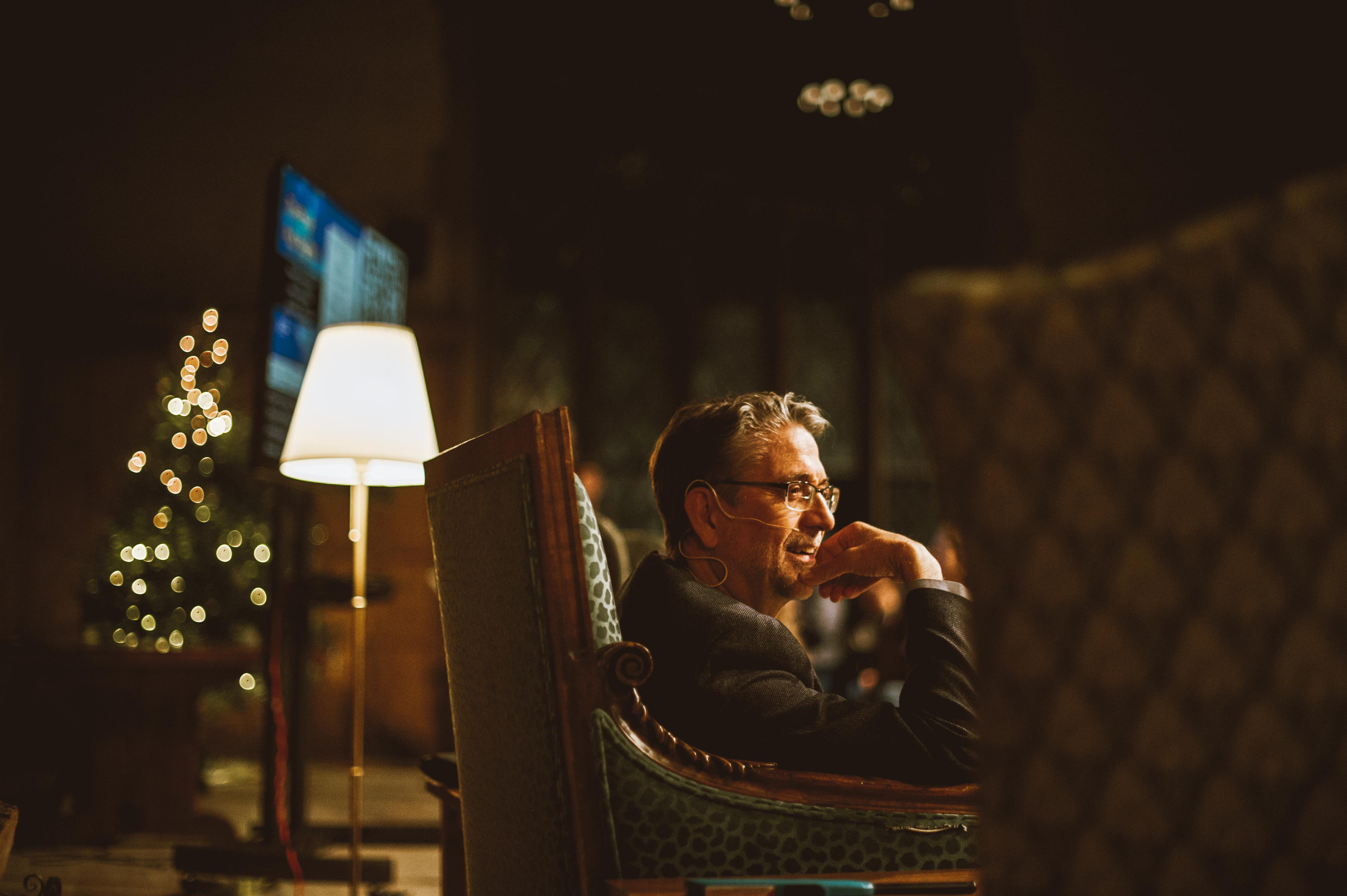 Ephraim Radner in conversation at Theology Pub Night