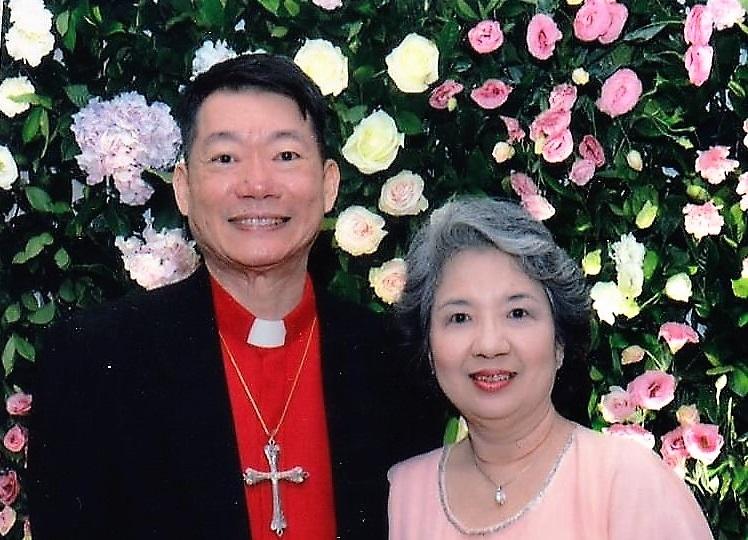 Patrick Tanhuanco & his wife May Yuchenkang