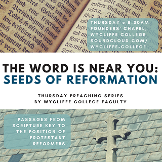 Reformation Preaching Series by Wycliffe Faculty