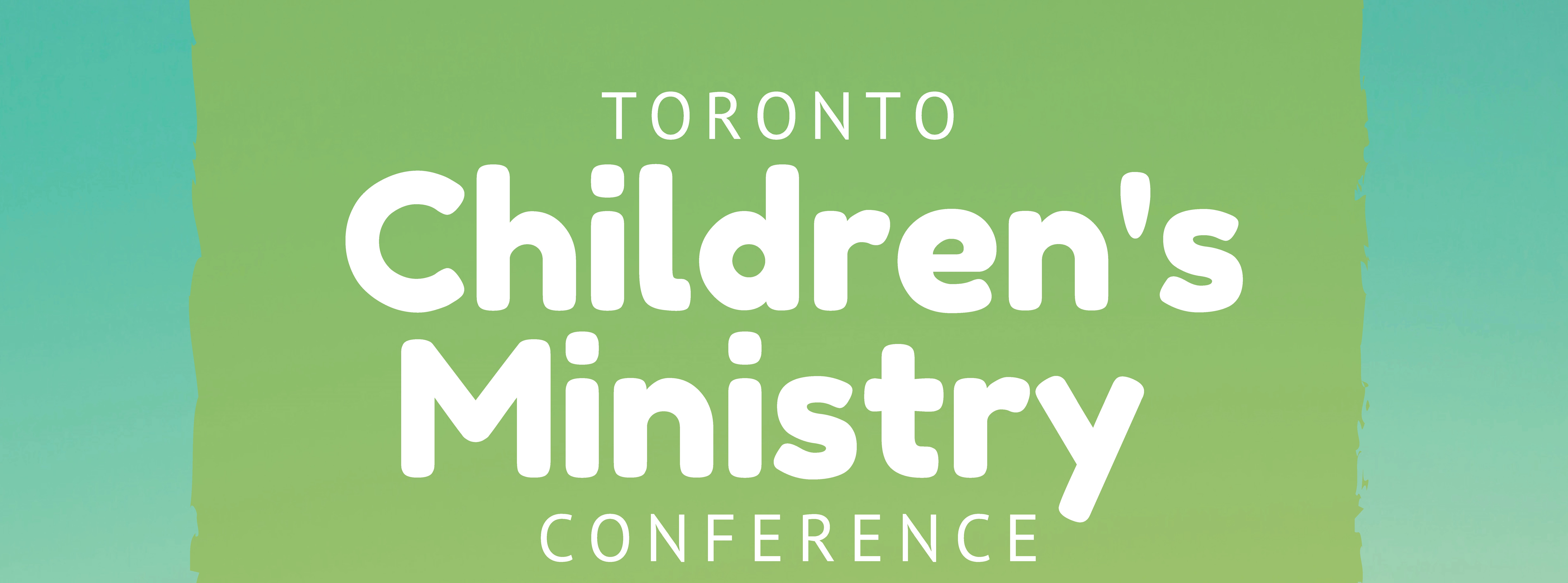 Toronto Children's Ministry Conference 2018