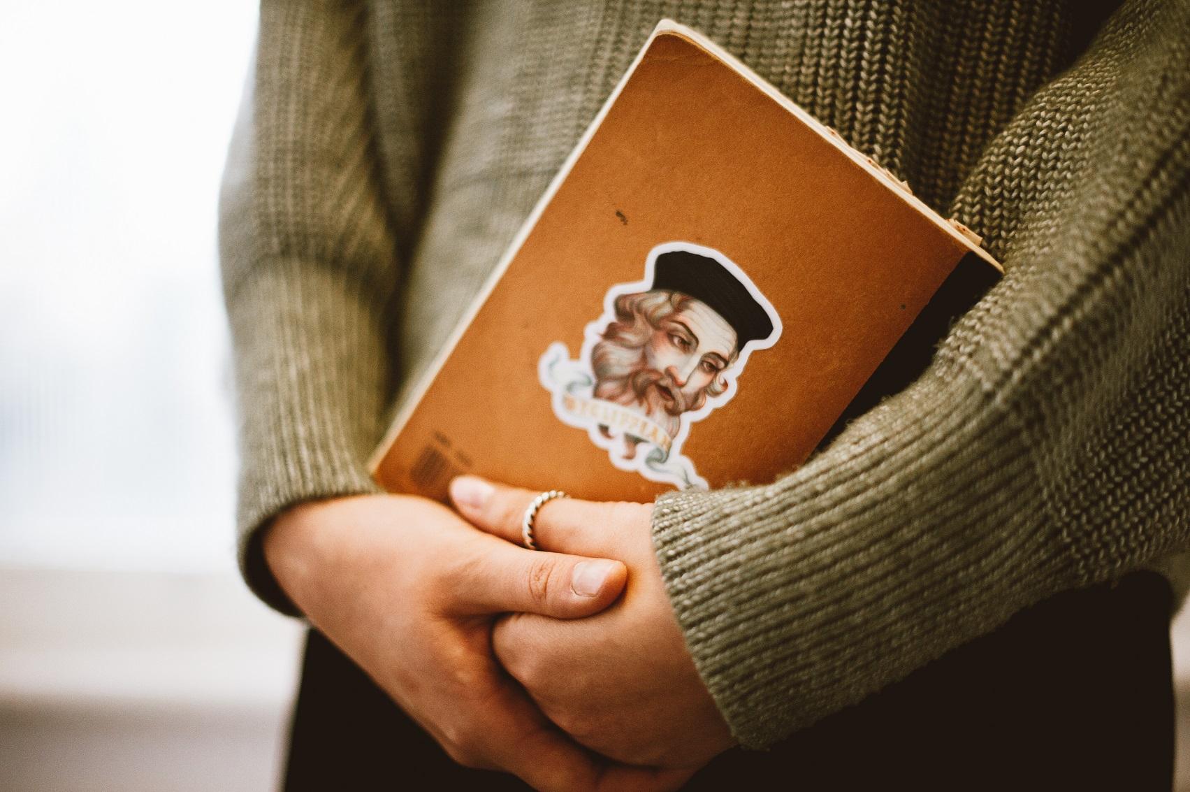 John Wycliffe reimagined - Wycliffian sticker designed by Joyce Shin