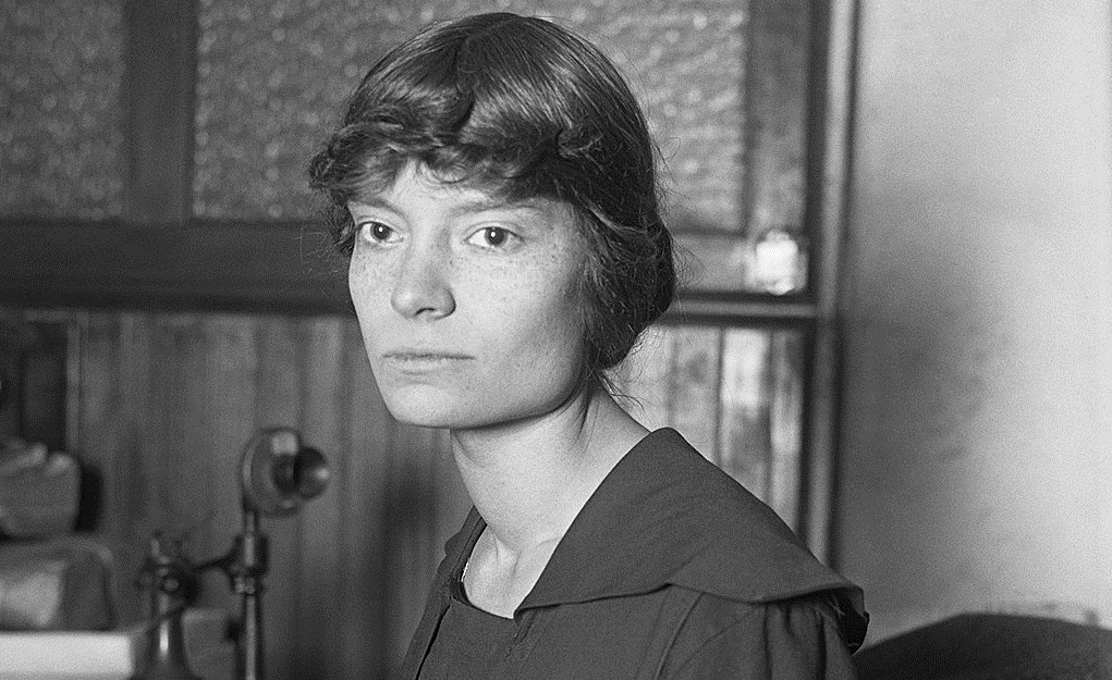 Dorothy Day in 1916. Public domain. Wikimedia Commons