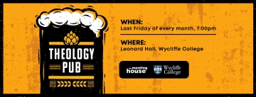 Theology Pub at Wycliffe College