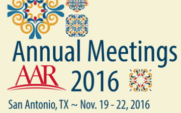 AAR Annual Meeting