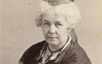 Portrait of Elizabeth Cady Stanton