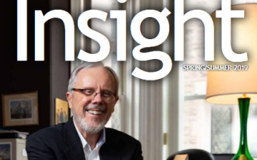 Insight Magazine Summer 2019 Edition by Wycliffe College, University of Toronto