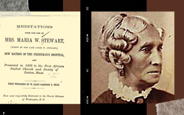 Meditations from the Pen of Mrs. Maria W. Stewart