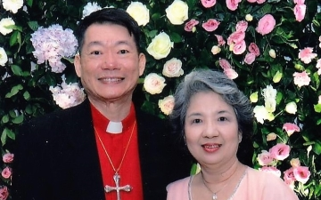 Patrick Tanhuanco & his wife May Yuchenkang