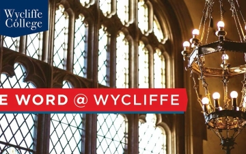 The Word at Wycliffe e-newsletter header