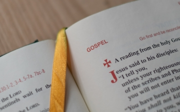 Gospel by Josh Applegate, unsplash