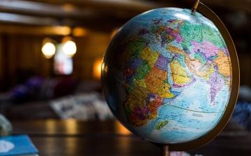 The globe (photo credit: Kyle Glenn, Unsplash)