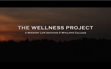 Wycliffe Wellness Project title screen