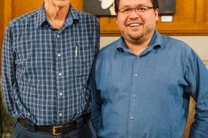 John Bland and Steve Hewko