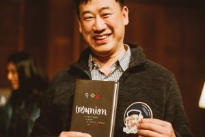 Book draw winner of Bruxy Cavey's book