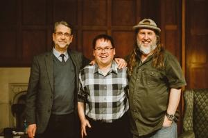 Ephraim Radner, Steve Hewko, and Bruxy Cavey