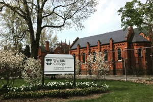 Wycliffe College in Spring