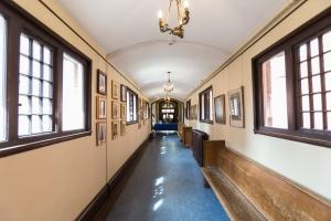 Hallway to Sheraton Hall