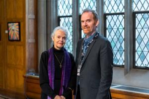 Dr. Ellen F. Davis & Peter Robinson
