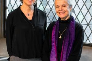 Annette Brownlee and Dr. Ellen F. Davis