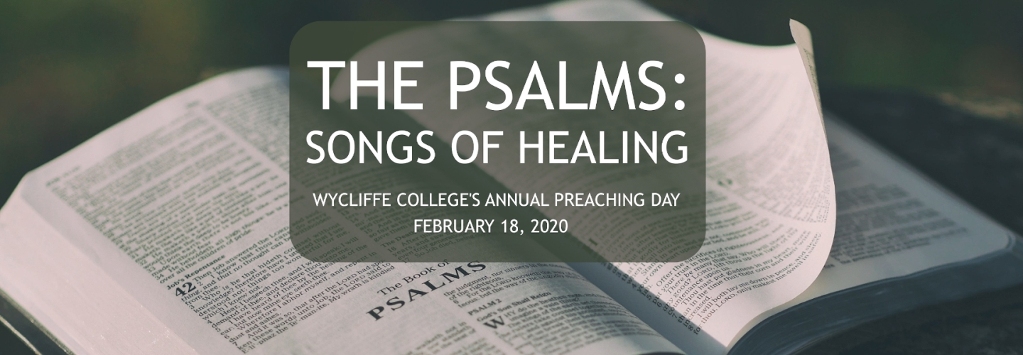 Preaching Day 2020 - The Psalms: Songs of Healing