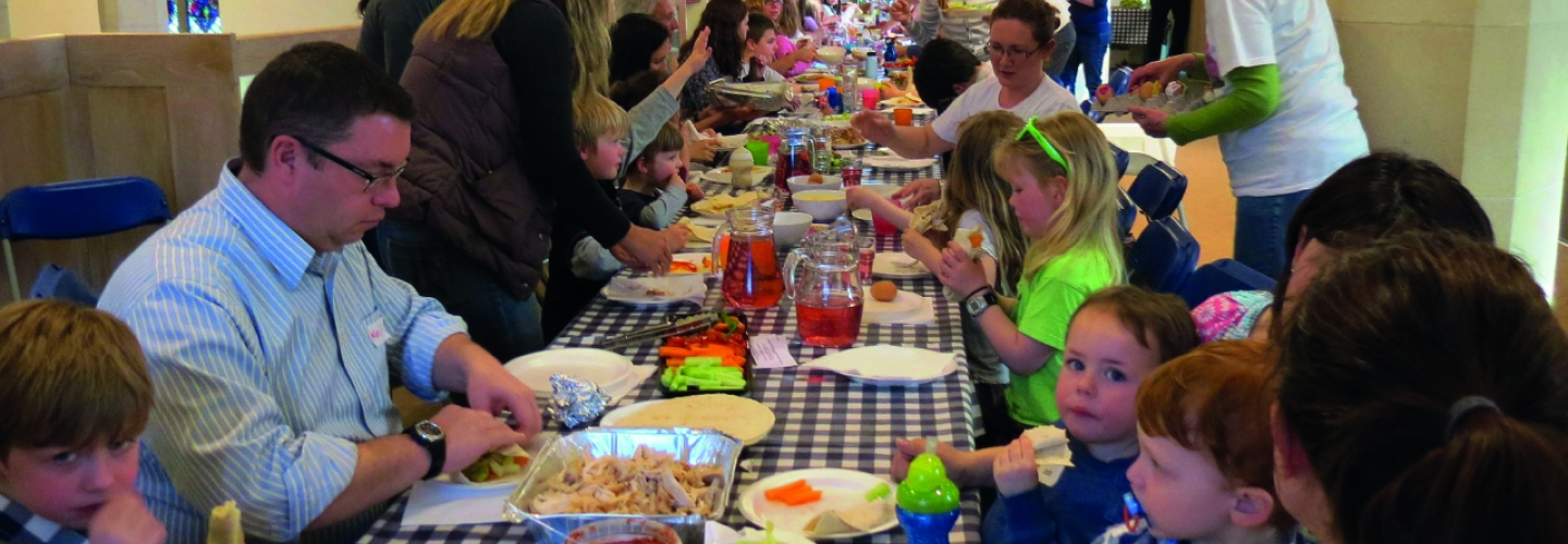 Messy Church is Hospitality